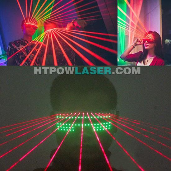LED発光眼鏡